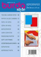 1100A Hartie de copiat tip indigo albastra si rosie