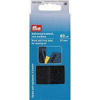 968556 Banda adeziva, material velco negru, latime 20mm