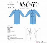 Tipar Halat de protectie Medical Mcalls