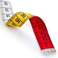 Centimetru de croitorie gradat in 3 culori, 150 cm, Prym 282121