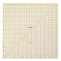 Rigla patrata pentru croitorie, patchwork, design grafic, 31,5 x 31,5 inch, PRYM 611319