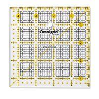 Rigla patrata pentru croitorie, patchwork, design grafic, 4,5 x 4,5 inch, PRYM 611473