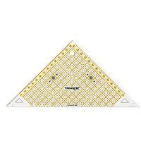 Rigla tip triunghi, 45 de grade, pentru croitorie, patchwork, design grafic, PRYM 611314