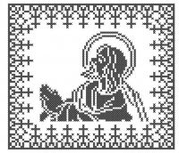 Model Broderie Religie RL006