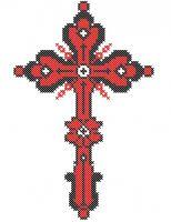 Model Broderie Religie RL008