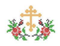 Model Broderie Religie RL009