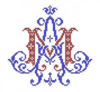 Model Broderie Religie RL015