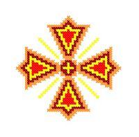 Model Broderie Religie RL026