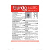 Hartie pentru tipare, gradata in cm, 2 coli (140 X 110 cm), Burda Style