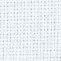 Panza Aida 16 pentru brodat, tip etamina, goblen, cu 16 puncte pe 2.54 cm,  lungime 50 cm X latime 150 cm, culoare alba, Zweigart