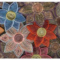 Ața de brodat cu aspect de lână Burmilana MADEIRA - set 147 culori