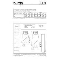 Tipar rochie si bluza 6503
