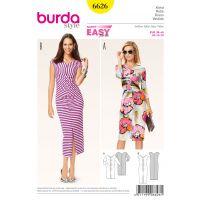 Tipar rochie Burda 6626