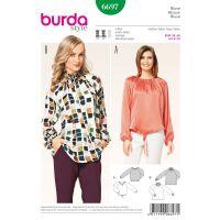 Tipar  Bluza Burda 6697