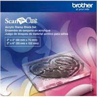Set de blocuri acrilice pentru ștampileBrother ScanNCut