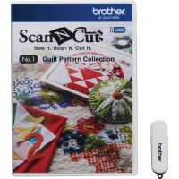 USB no.1 colectie modele de quilting Brother ScanNCut