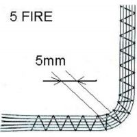 Piciorus pentru inserare 5 snururi F019N 7mm