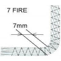 Piciorus pentru inserare pana la 7 snururi 7mm F020N