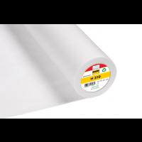 Insertie, Intaritura termocolanta netesuta pentru tesaturi usoare, din fibre sintetice, 90x100 cm, culoare alb, 63 gr, Vlieseline H310