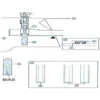 Piciorus set de aplicare a benzii bie SA224CV (BSM)